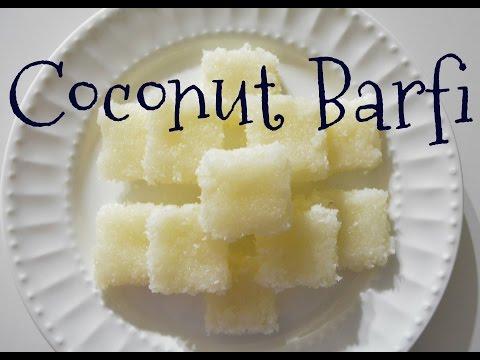 Quick n' easy Coconut Barfi Recipe