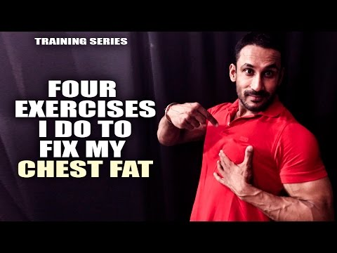 How to reduce chest fat- training video