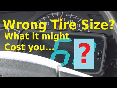 Wrong Tire Size - What Does it Mean? - Automotive Education