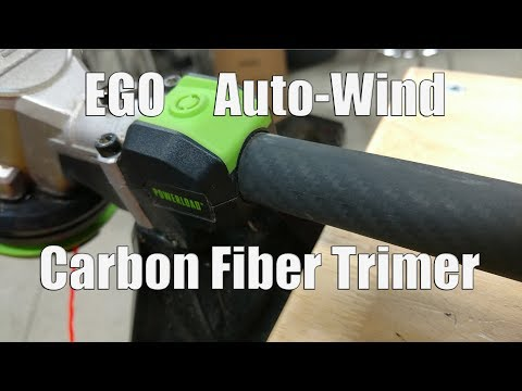 EGO 56-Volt Cordless 15″ Auto-Wind String Trimmer with Carbon Fiber Shaft | Model ST1521S