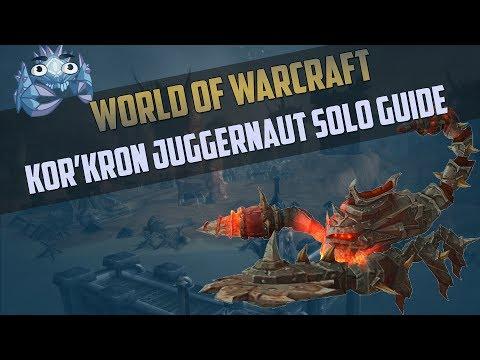 Kor'kron Juggernaut Rare Mount Guide - Siege of Orgrimmar Mythic Solo Guide
