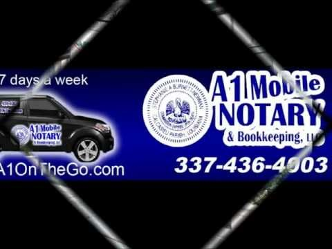 A1 MOBILE NOTARY & BOOKKEEPING LLC Lake Charles Louisiana, Calcasieu Parish 337-436-4003