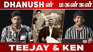 தனுஷுக்கு மகன்களாக நடிக்கும் Teeja & Ken I Asuran Audio Launch I C5D