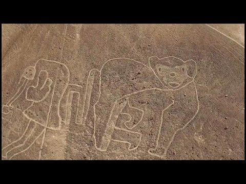 Giant drawings found near Nazca Lines in Peru desert