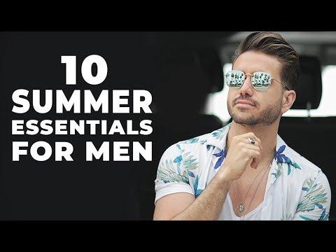 10 Summer Essentials Every Man Must Have | Men's Fashion 2018 | ALEX COSTA