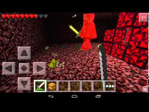 Minecraft pe-nether portal