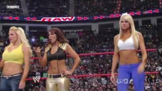 10 Diva Tag Match  - Raw 06.04.2009 *hd*