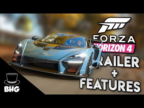 Forza Horizon 4 | E3 TRAILER AND FEATURES (UK, PROPERTIES, CHARACTER CUSTOMISATION AND MANY MORE)