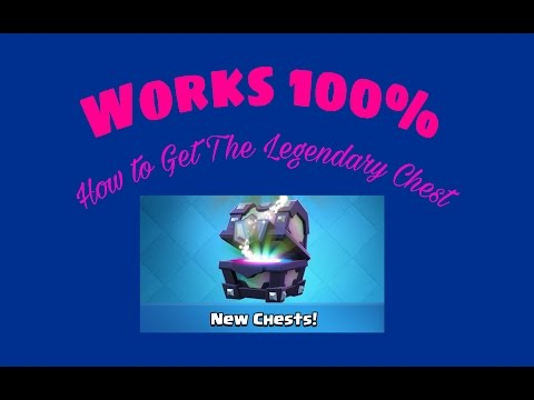 How To Get A Legendary Chest /  Works 100 %