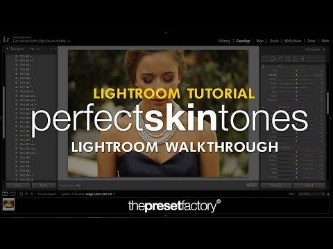 How To Get Perfect Skin Tones in Lightroom | Lightroom Tutorial