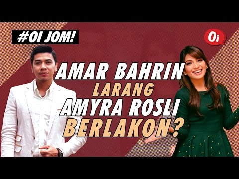 Amyra Rosli dilarang berlakon oleh Amar Baharin?