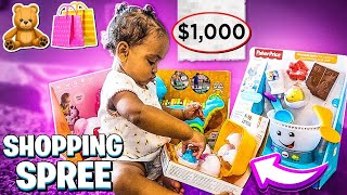 TAKING BABY LONDYN ON A SHOPPING SPREE!