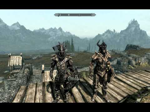 Skyrim both sets of Dragon Armour. Dragon Scale & Dragon Plate