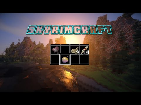 OP APPLE! - SkyrimCraft Ep 4 | Minecraft Survival
