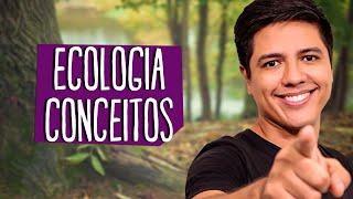 CONCEITOS BÁSICOS DA ECOLOGIA - BIOLOGIA - Prof. Kennedy Ramos