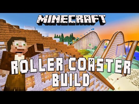 Minecraft: Timelapse Roller Coaster Building & TwitchCon Panel  (Scarland Build Ep.27)