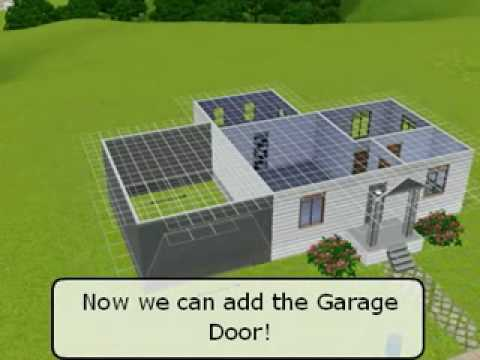 Building Garages on Foundation Homes - The Sims 3