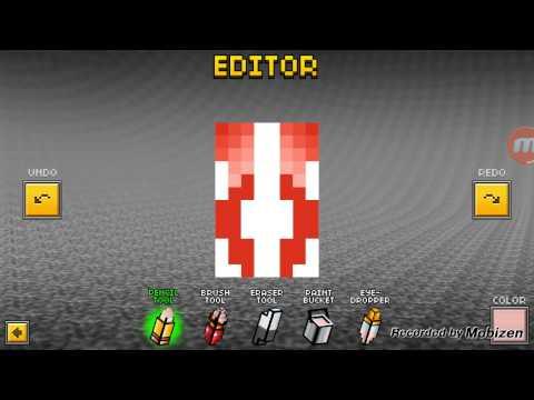 How to make a cute Panda skin ,pixel gun 3d