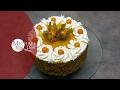 Birthday Cake (with mascarpone whipped cream frosting)