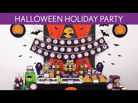 Halloween Holiday Party Ideas // Halloween Holiday - H1