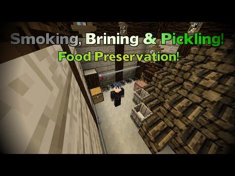 TerraFirmaCraft Tutorials 3: Food Preservation   Smoking & Pickling