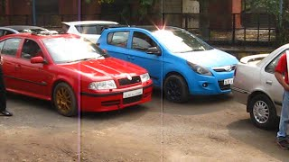 Modified Cars /  Delhi / Event / DTU / Fest / Fast and Furious night / Shake down