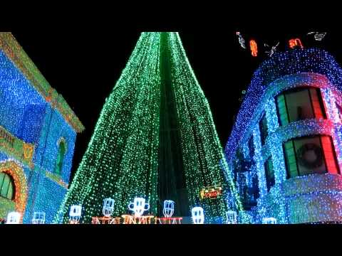 Osborne Family Spectacle of Dancing Lights at Disney's Hollywood Studios - 2013