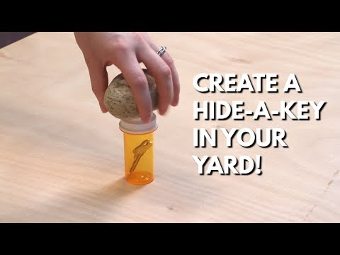 Create a Hide-a-Key in Your Yard - Quick Tips from Tiff #1