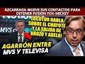 Sacan trapitos a Televisa, locutor de MVS revela por qué sacaron a Brozo y Adela