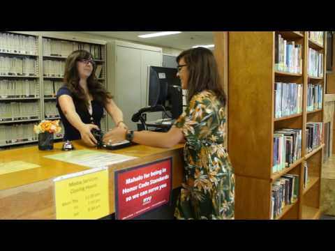 BYU Hawaii Library Tour 1