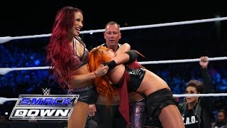 Charlotte & Becky Lynch vs. Naomi & Sasha Banks: SmackDown, Aug. 6, 2015