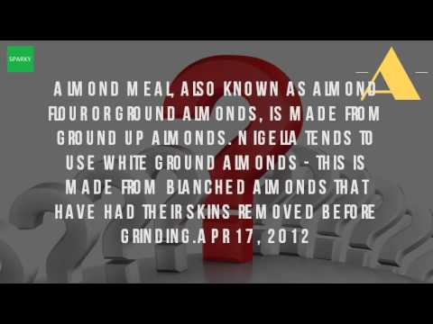 Is Ground Almonds And Almond Meal The Same?
