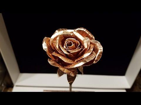 DIY Metal Rose (Copper)