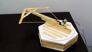 How to Make a Remote Controlled Robotic Crossbow