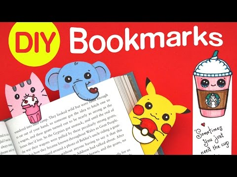 How to Make a Bookmark Cute and Easy - DIY Cute Paper Craft