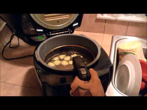 Deep Frying Pickles (Sliced)
