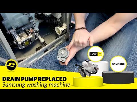 How to Replace a Samsung Washing Machine Drain Pump