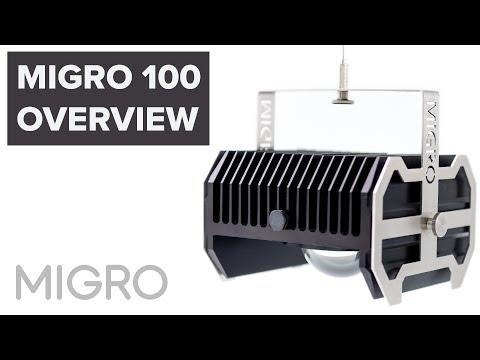 MIGRO 100 Overview - Full spectrum COB LED Grow Light