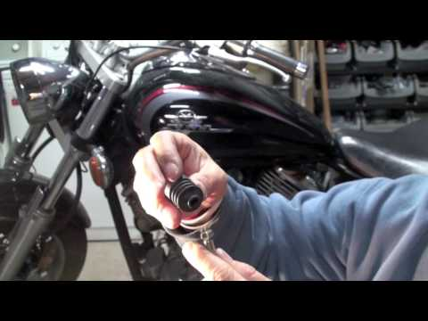 Replace Clutch Cable Yamaha V-Star 1100 Motorcycle
