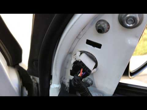 2006-2011 Civic Coupe Removal of Outside Side Mirrors How To Remove and Replace