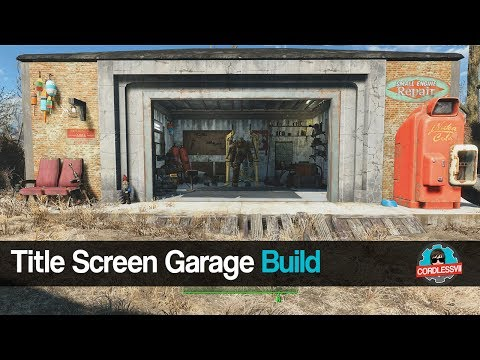 Fallout 4 | Title Screen Garage Build
