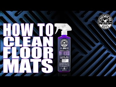 How To Clean Floor Mats - Chemical Guys Mat ReNew Cleaner & Protectant