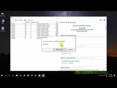 How To Uninstall Revealer Keylogger