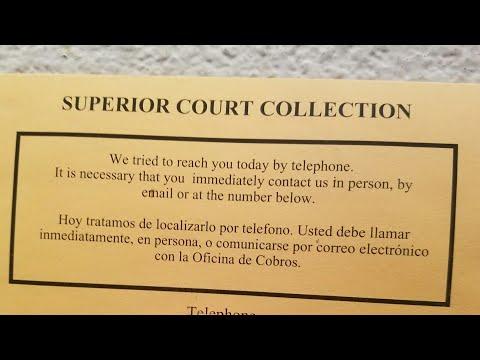Court Response: Affidavit for No Car Registration or Insurance.