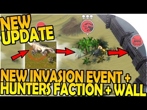 NEW UPDATE - NEW INVASION EVENT + HUNTERS FACTION - Last Day on Earth Jurassic Survival Gameplay