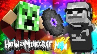 FINDING THE NEW DJ... (How To Minecraft S4) Episode 7