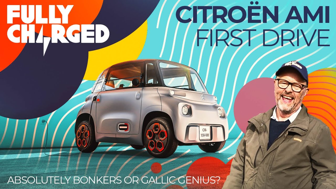 Citroen AMI First Drive - Absolutely Bonkers or Gallic Genius?| 100% Independent, 100% Electric