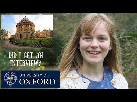 An interview at Oxford University? || Exciting Announcement