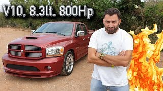 ΠΡΟΣΟΧΗ στα ηχεία - Τέτοιος ήχος από αυτοκίνητο ΔΕΝ υπάρχει || Dodge RAM SRT-10 Viper