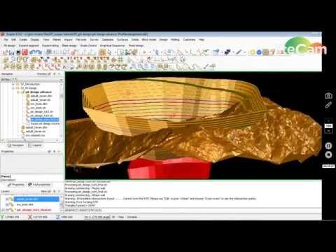 Surpac Pit Design Tutorial  04
